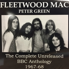 Fleetwood Mac - The Complete Unreleased BBC Anthology (1967-68) - New Vinyl 2017 2-LP Spain Import Pressing on Teal Vinyl - Rock