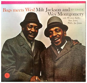 Milt Jackson And Wes Montgomery ‎– Bags Meets Wes - VG+ Lp Record 1962 Riverside USA Stereo Vinyl - Jazz / Bop