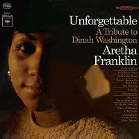 Aretha Franklin - Unforgettable - A Tribute To Dinah Washington (1964)- Mint- 1972 Stereo Press USA - Soul