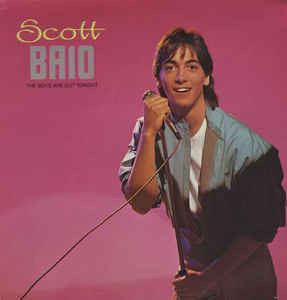 Scott Baio ‎– The Boys Are Out Tonight Mint- 1983 RCA Victor Stereo LP USA - Pop / Rock / Chachi