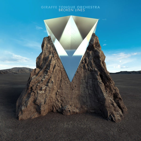 Giraffe Tongue Orchestra - Broken Lines - New Vinyl 2016 Party Smasher Limited Edition Blue + White Vinyl, Limited to 500 Copies - Alt-Rock / Hard Rock