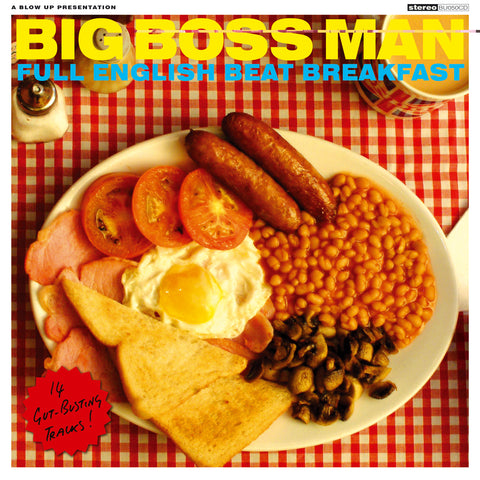 Big Boss Man - Full English Beat Breakfast - New Vinyl Lp 2019 Blow Up Records Reissue on 180gram White Vinyl with Download (Limited to 500!) - Latin Funk / Soul