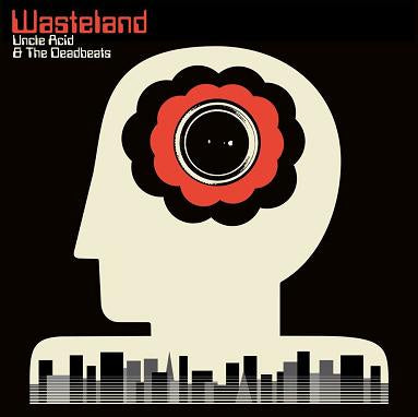 Uncle Acid & The Deadbeats - Wasteland - New Vinyl Lp 2018 Rise Above Indie Exclusive on 'Black Sparkle' Colored Vinyl with Iron-On (Limited to 1500!) - Stoner / Heavy Psych  / Doom
