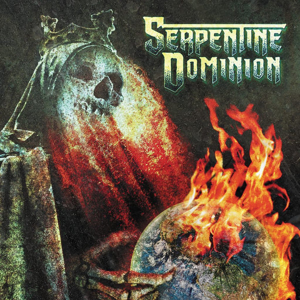 Serpentine Dominion - S/T - New Vinyl Record 2016 Metal Blade Records Limited Edition (250!) Green / Grey Marble Vinyl + Download - Death Metal