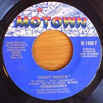 "Commodores - Fancy Dancer / Cebu - VG+ 7"" Single 45RPM 1976 Motown USA - Funk / Soul"