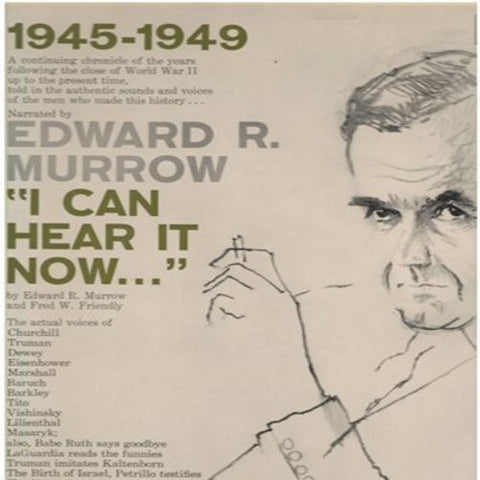 Edward R. Murrow & Fred W. Friendly - I Can Hear It Now Vol. 2 - VG+ Mono USA 1950's - Spoken Word