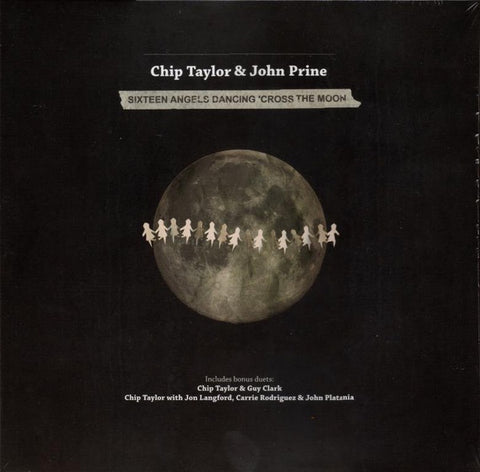 "Chip Taylor & John Prine ‎– Sixteen Angels Dancing 'Cross The Moon - New 10"" Ep Record Store Day Black Friday 2015 Train Wreck Europe Import RSD Vinyl - Folk / Country"