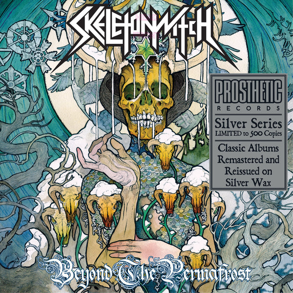 Skeletonwitch - Beyond the Permafrost - New Vinyl 2017 Prosthetic Records Limited Edition Silver Vinyl Reissue (500 copies) - Thrash / Melodic Death Metal