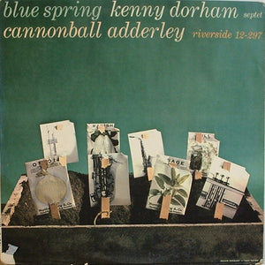 Kenny Dorham Septet Featuring Cannonball Adderley ‎– Blue Spring - VG+ (Low grade Cover) 1959 Riverside USA Mono Original Vinyl - Jazz / Hard Bop