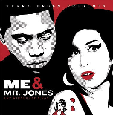 Amy Winehouse & Nas ‎– Me & Mr. Jones (Terry Urban Presents) - New 2 Lp Record 2017 Europe Import Colored Vinyl - Hip Hop / Soul