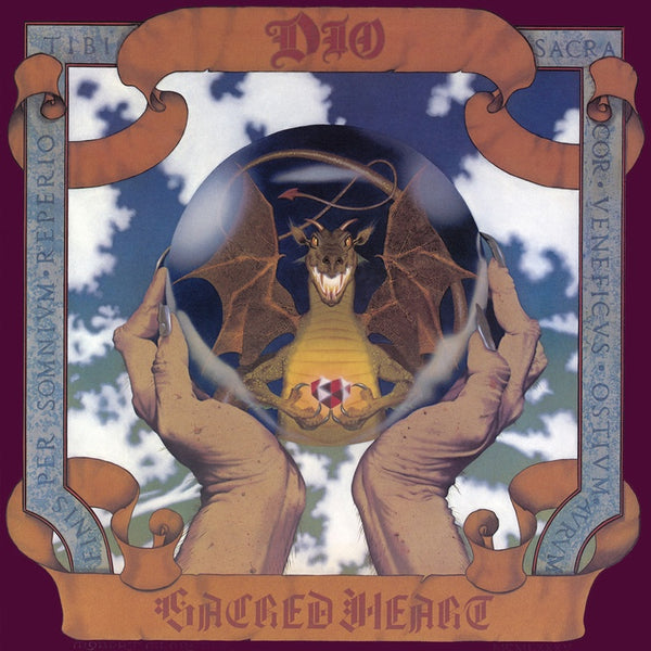 Dio - Sacred Heart (1985) - New Vinyl Lp 2018 Rhino 'ROCKtober' Exclusive Reissue on Clear Vinyl - Metal