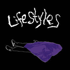 Lifestyles -S/T - New Vinyl 2016 Maximum Pelt LP 1st Press on White Vinyl, limited 200 Copies - Chicago IL Punk / Noise-Rock