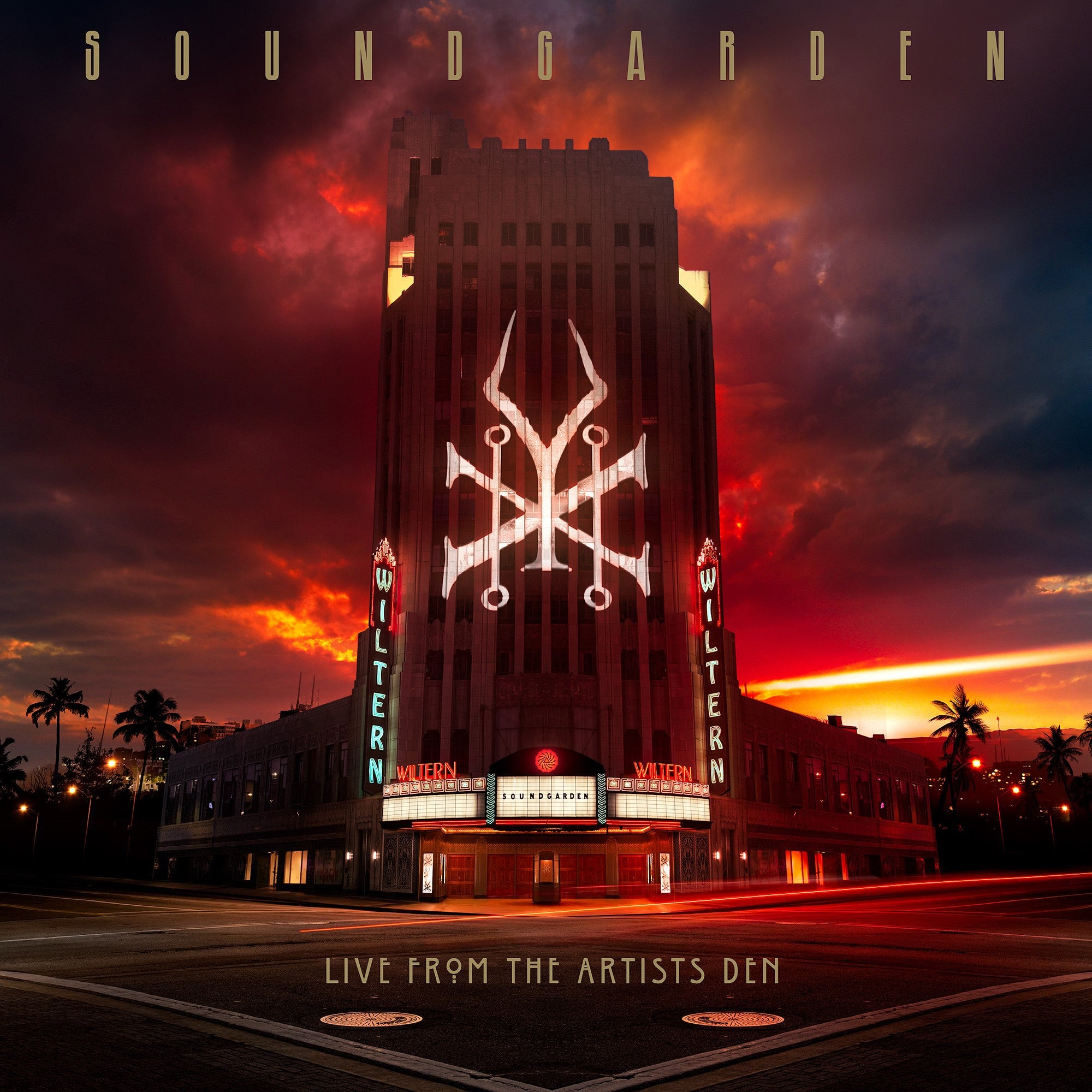 Soundgarden — Live From The Artists Den - New 4 Lp Record 2019 180Gram Vinyl Deluxe Edition with 2 CD and Blu-Ray - Grunge/Alt Rock
