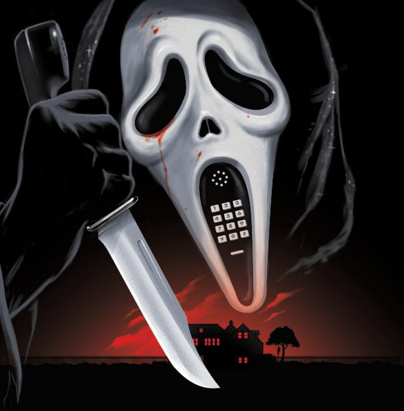 Soundtrack / Marco Beltrami - Scream / Scream 2 original scores - New Vinyl 2016 Limited Edition 180gram Bone-White Vinyl