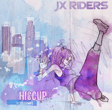 "JX Riders (Ft. Sisterwife) - Hiccup - New Vinyl 2017 Cherry Tree 12"" Single - Electronic / House / Hip Hop"