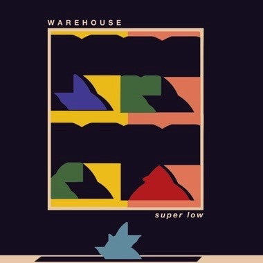 Warehouse - Super Low - New Vinyl Record 2016 Bayonet Records Limited Edition Emerald Green Viny + Download - Indie Rock / Experimental