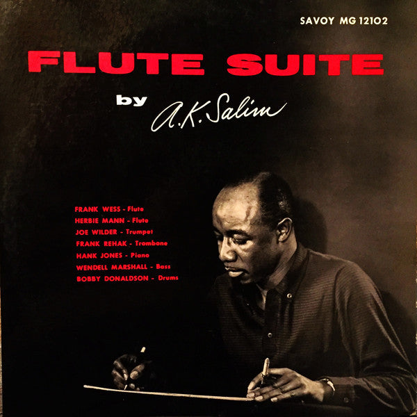 A.K. Salim ‎– Flute Suite - VG- (Low Grade) 1957 Mono Original Press USA - Jazz