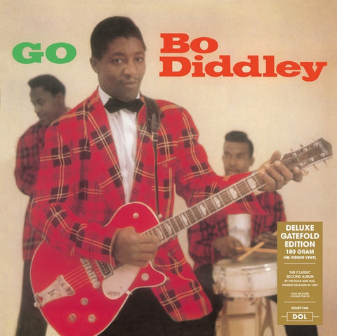 Bo Diddley ‎– Go Bo Diddley (1959) - New Vinyl Lp 2018 DOL 180gram EU Import Deluxe Edition with Gatefold Jacket and 8 Bonus Tracks - Rock