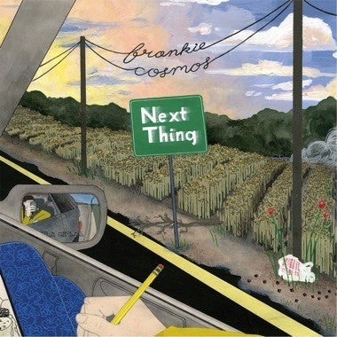 Frankie Cosmos - Next Thing - New Vinyl 2016 Bayonet Records Limited Edition Orange-Sky Vinyl LP + Download - Indie Pop / LoFi / Famous Peoples Kids