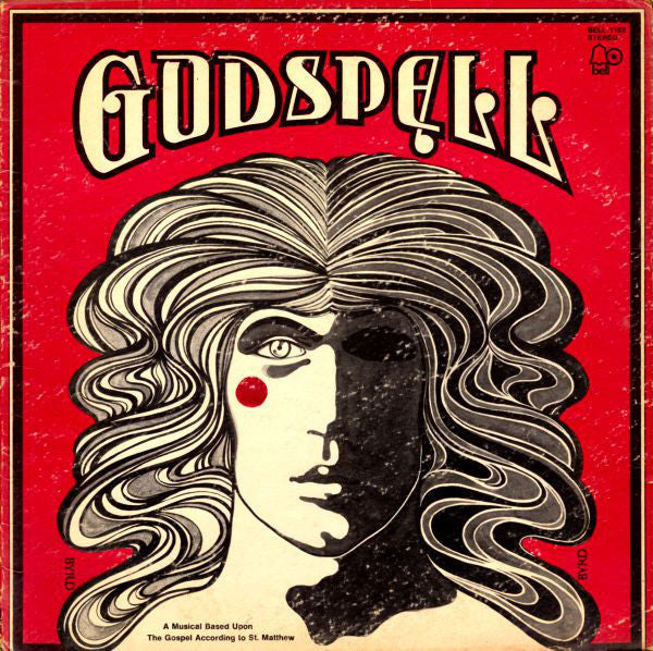 """Godspell"" Original Cast ‎– Godspell - VG+ 1971 Stereo USA Original Press Record - Soundtrack"