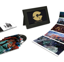 "Genius / GZA ‎– Liquid Swords : The Singles Collection - New Vinyl 2017 Interscope / Geffen Records 4x 7"" Single Set with Easel Display Box- Rap / Hip Hop / WU-Tang"