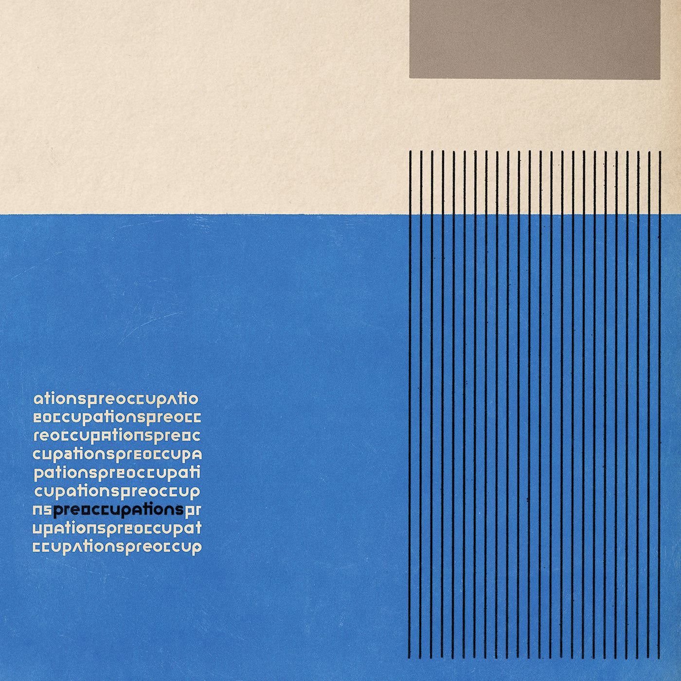 Preoccupations ‎(Viet Cong) – Preoccupations - New Lp Record 2016 USA Jagjaguwar Black Vinyl & Download - Post-Punk