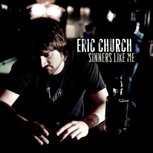 Eric Church - Sinners Like Me - New Vinyl Lp 2019 Capitol Nashville Limited Reissue on 180gram Red Vinyl - Country