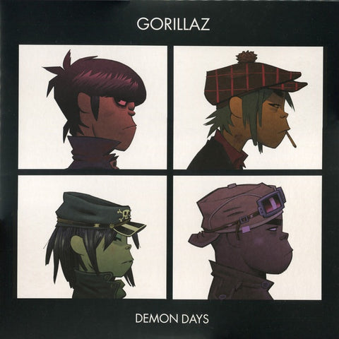 Gorillaz ‎– Demon Days (2005) - Mint- 2 Lp Record 2017 Warner Vinyl Me, Please Red Vinyl - Trip Hop / Hip Hop / Pop Rap / Rock