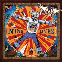Aerosmith - Nine Lives - New 2019 Record 2LP Black Vinyl Reissue with Bonus Tracks - Rock