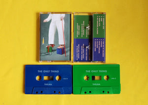 Thelma - The Only Thing - New Cassette 2019 on Colored Tape - Indie-Pop / Synth-Folk