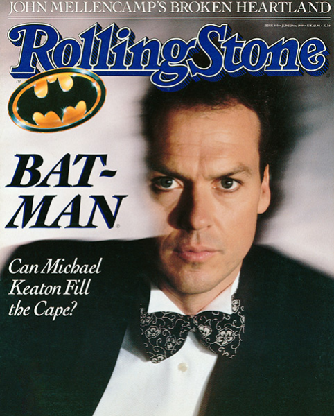 Rolling Stone Magazine - Issue No. 555 - Michael Keaton