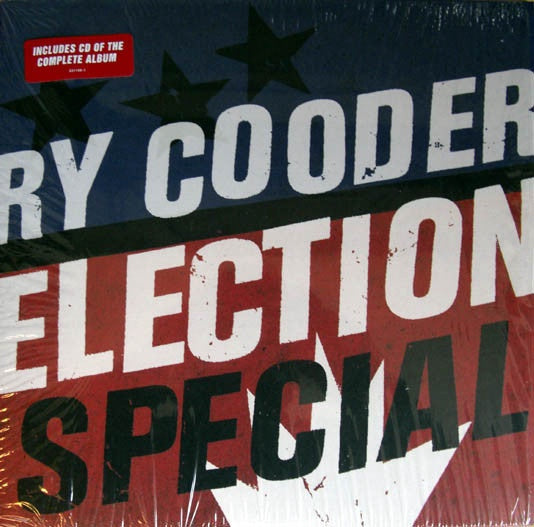 Ry Cooder ‎– Election Special - New Vinyl 2012 German Import Press With CD - Rock / Folk / Blues