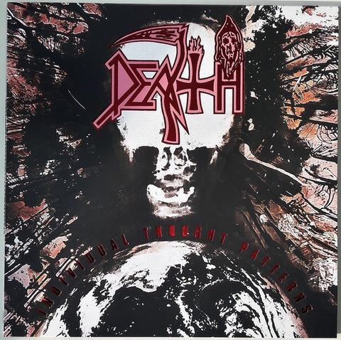 Death ‎– Individual Thought Patterns (1993) - New LP Record 2017 Relapse Black Vinyl - Death Metal