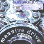 "3 Drives On A Vinyl - Superfunk VG+ - 12"" Single 1999 Massve Drice Netherlands - Trance"