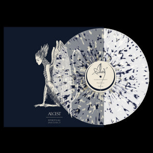 Alcest ‎– Spiritual Instinct - New LP Record 2019 Nuclear Blast USA Limited Edition Clear / Blue Bone Splatter Vinyl - Black Metal
