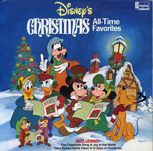 Various - Disney's Christmas All-Time Favorites - VG+ 1981 Stereo (With POSTER) USA - Children's/Holiday