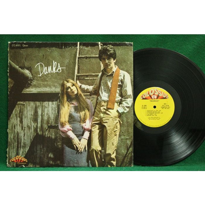 Raul Danks & Stefanianna Christopherson ‎– Danks - VG+ Lp Record 1970 USA Original Vinyl - Rock / Soft Rock / Soul Rock