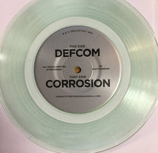 "Matt Dubspun ‎– Defcom / Corrosion - New 7"" Vinyl 2017 Vibenotic Recordings EP on Clear Green Vinyl - Electronic / Minimal Techno"