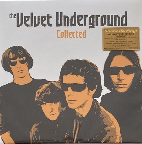 The Velvet Underground ‎– Collected (2012) - New 2 Lp Record 2017 Music On Vinyl Europe Import 180 gram Vinyl & Booklet - Psychedelic Rock / Rock & Roll