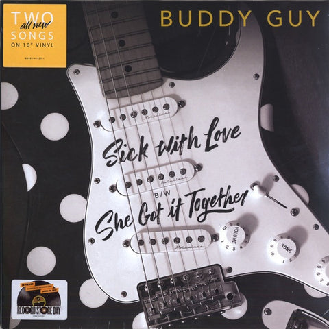 "Buddy Guy - Sick With Love - New 10"" Record Store Day 2017 RCA USA RSD Vinyl - Blues"