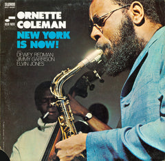 Ornette Coleman ‎– New York Is Now! (1968) New Vinyl 2015 Blue Note (75th Anniversary Vinyl Initiative Series) Reissue USA - Jazz / Free Jazz