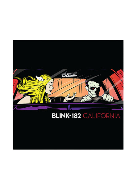Blink-182 - California - New Vinyl Record 2016 BMG 180gram LP + Download - Pop Punk / Rock