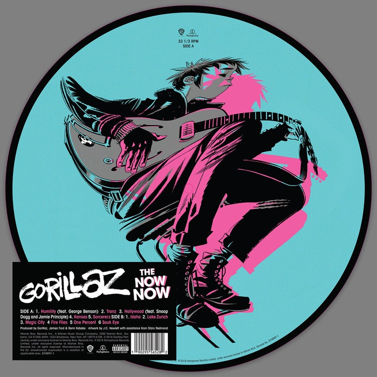 Gorillaz - The Now Now - New Vinyl Lp 2019 Warner Bros Limited Picture Disc - Alt-Rock / Trip Hop / Electronica