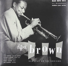 "Clifford Brown ‎– New Star On The Horizon (1953) - New Vinyl 2015 Blue Note '75th Anniversary' 10"" Reissue - Jazz / Bop"