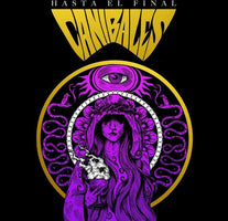 "CANIBALES ‎– Hasta El Final - New 7"" Vinyl 2017 Grizzlar Records Purple and Gold Split Mexican Import Pressing (Limited to 500!) - Hard Rock / International"