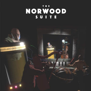 Cosmo D – The Norwood Suite (Original Score) - New Vinyl Lp 2018 Ghost  Ramp Limited Pressing on 'Black in Blue' Colored Vinyl with Download -