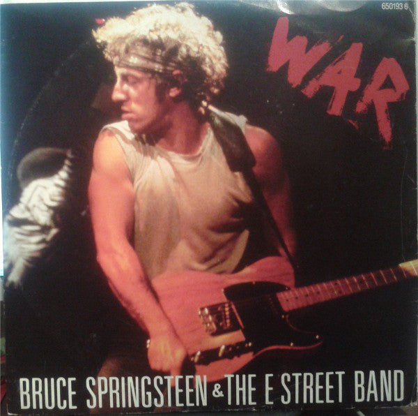 Bruce Springsteen & The E Street Band - War - Mint- Stereo 1986 (UK Import) Original Press - Rock/Pop