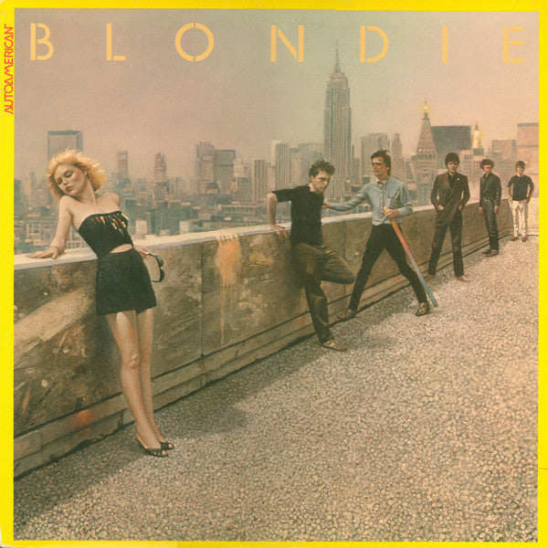 Blondie ‎– AutoAmerican - VG+ Stereo 1980 Original Press (With Matching Inner Sleeve) USA - Pop / Rock