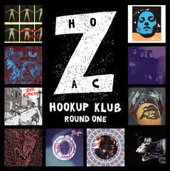 Various - Hozac Hookup Klub Round One - New Vinyl 2010 Chicago IL Garage / Lo-Fi / Punk