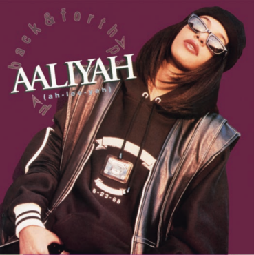 "Aaliyah - Back & Forth - New 12"" Single 2018 Record Store Day Purple Vinyl  - Soul / Pop"